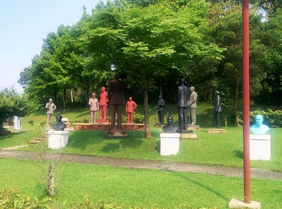 蒋公陵寝 雕像