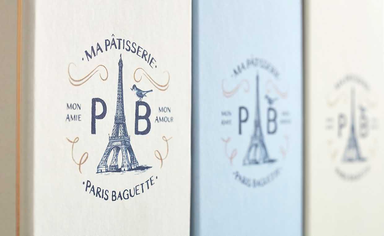 4Paris-Baguette 包装设计