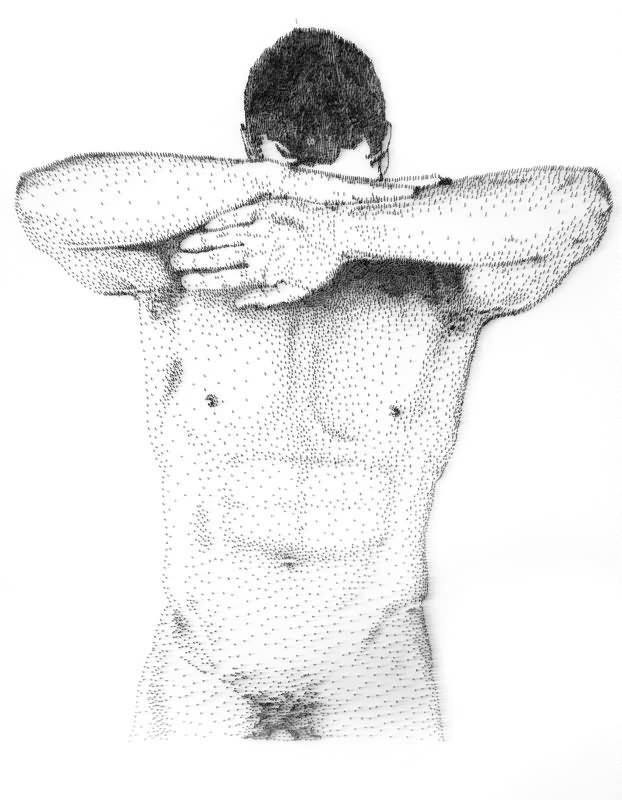 Levine 钉子雕塑 (5)