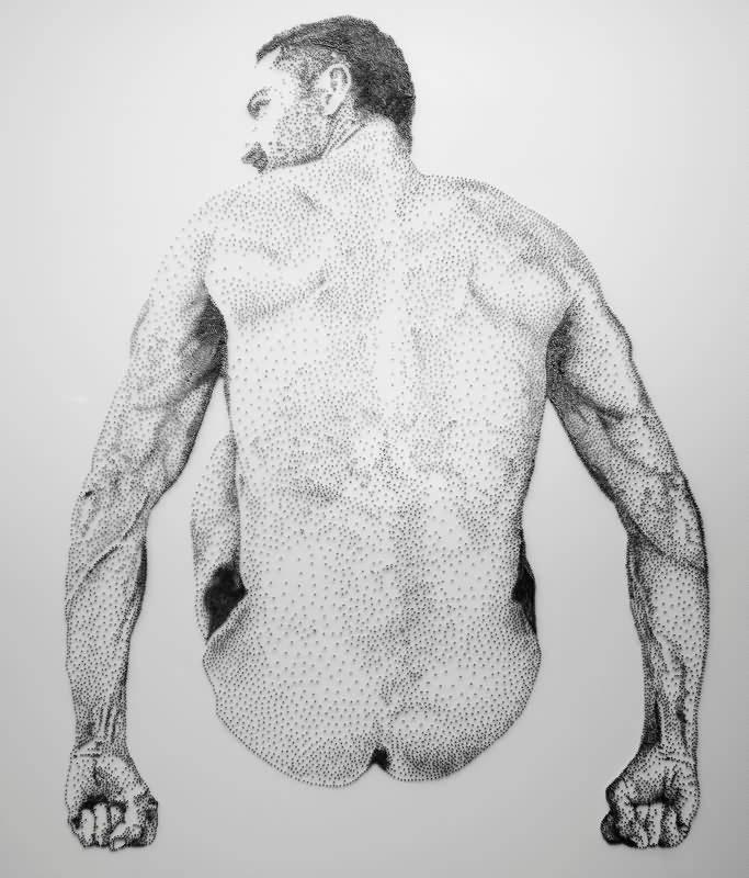 Levine 钉子雕塑 (6)