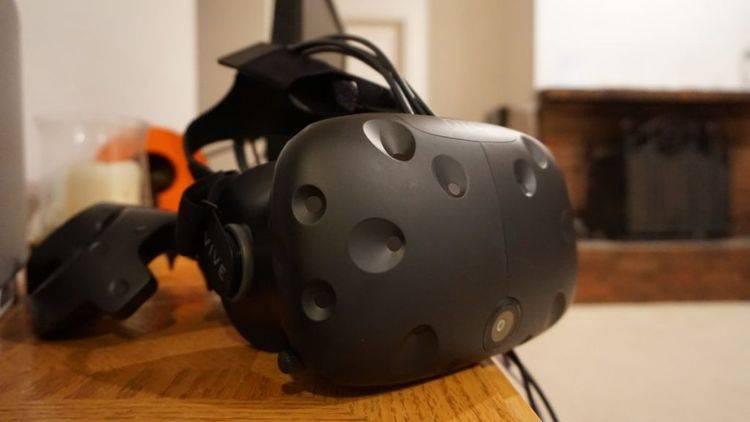 HTC Vive头盔