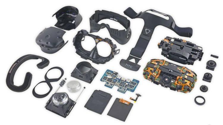 HTC Vive拆解