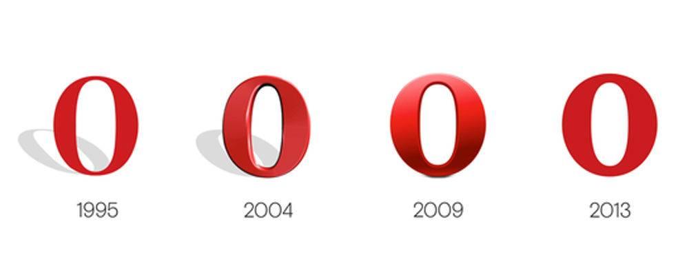 opera标识演变