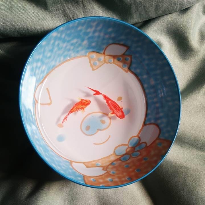 树脂金鱼-鱼身子