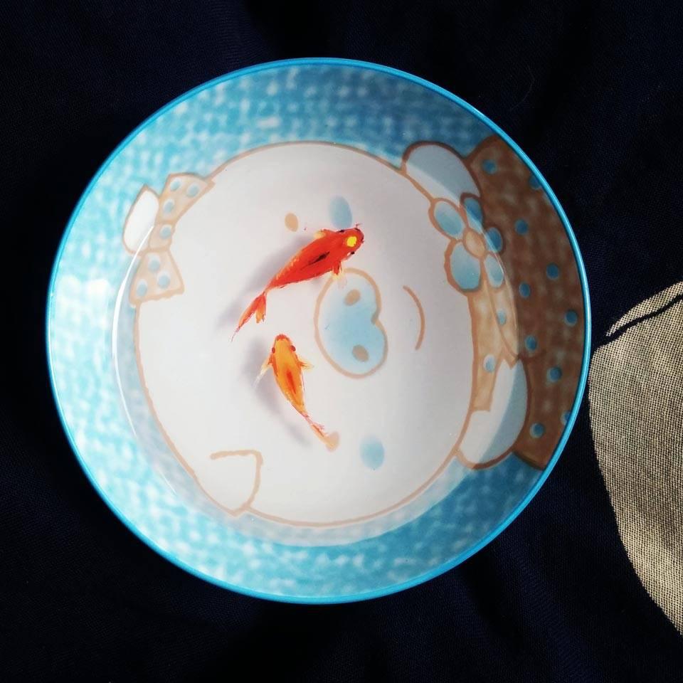 树脂金鱼 5